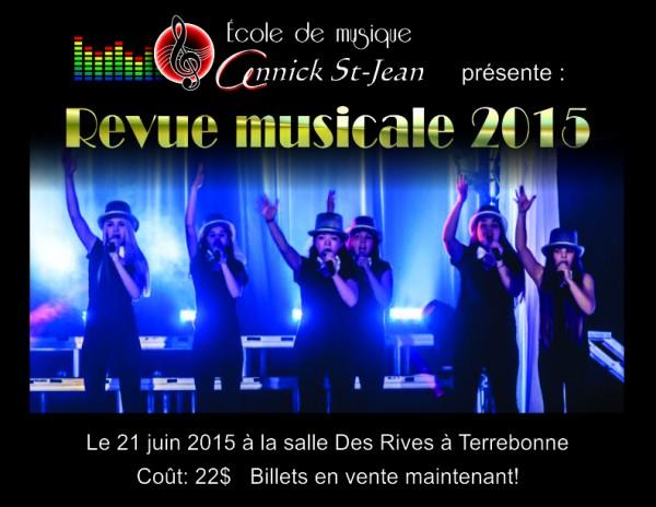 Poster Revue Musicale jeunes 11x8.5